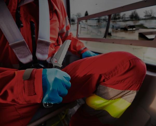 navajas y cuchillos para rescate y cuerpos de seguridad