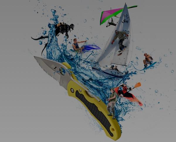 Navajas para náutica Spyderco