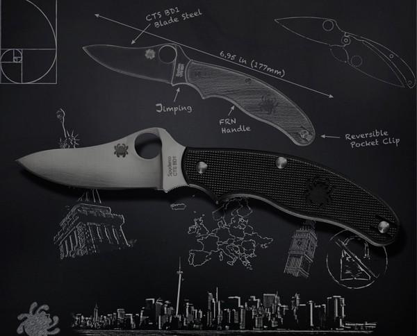 Anatomia del cuchillo Spyderco