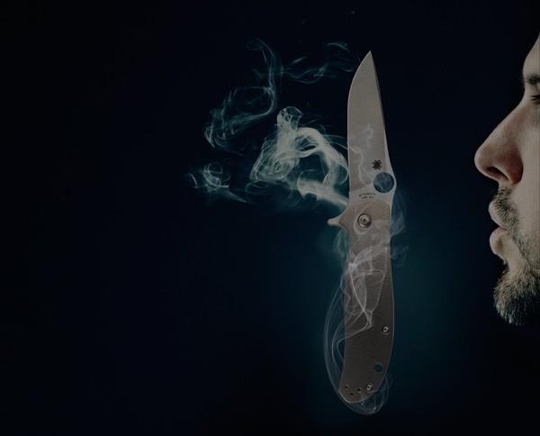 cuchillos coleccionables Spyderco