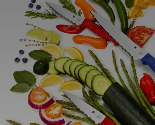 Cuchillos de cocina Spyderco